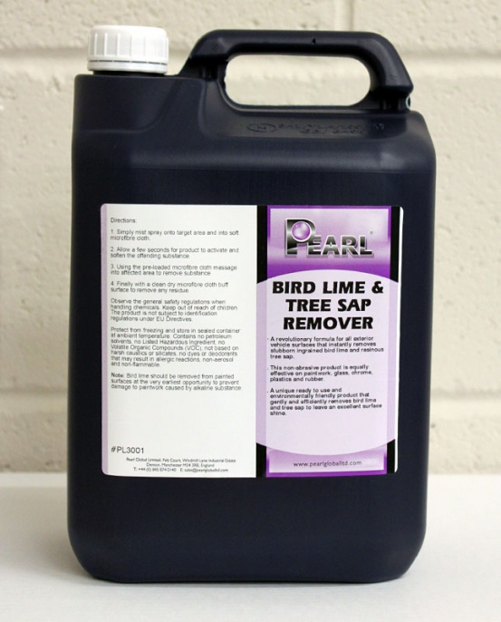 Pearl Bird Lime Tree Sap Remover 5L