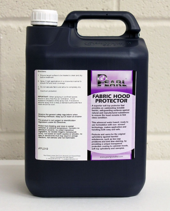 Pearl Fabric Hood Protector 5L