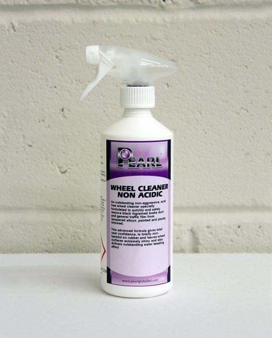 Pearl Alloy Wheel Cleaner Non-Acidic 500ml