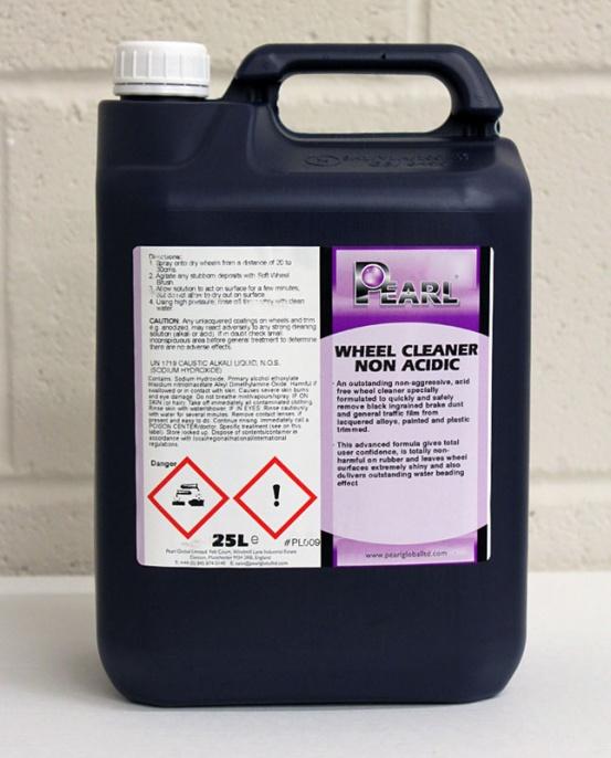 Pearl Alloy Wheel Cleaner Non-Acidic 5L