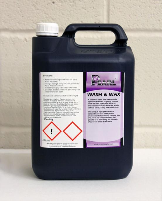 Pearl Wash & Wax 5L